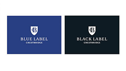 BLUE LABEL/BLACK LABEL CRESTBRIDGE