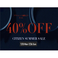 CITIZEN collection自動巻40%OFF!